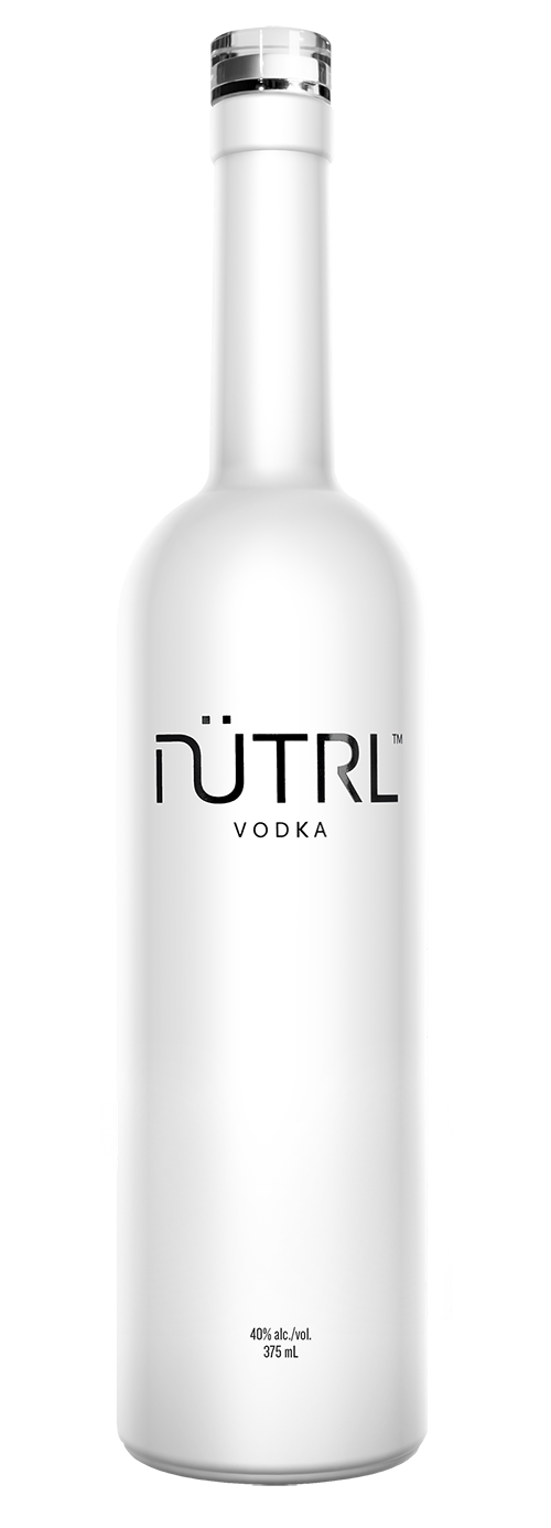 nutrl vodka bottle