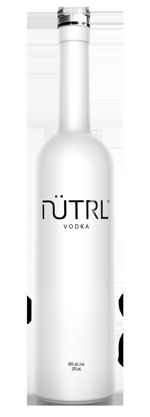 nutrl vodka bottle